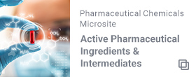 Pharmaceutical Chemicals Microsite Active Pharmaceutical Ingredients & Intermediates
